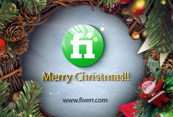 make an awesome merry christmas video greeting in 24 hours