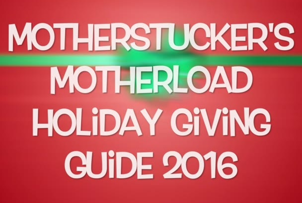 promote you brand in the MotherLOAD Holiday Giving Guide 2016