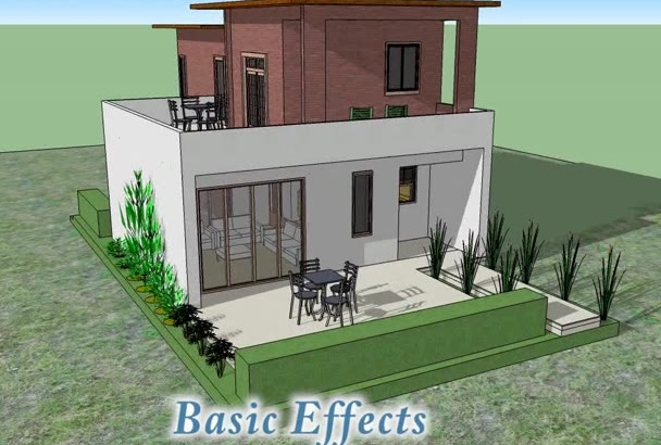 make advance animation of SketchUp Model