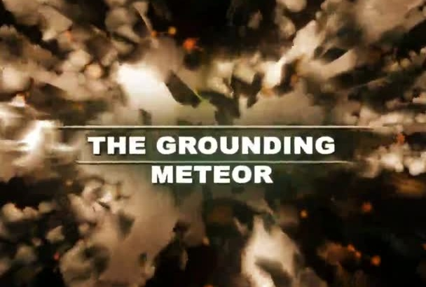create a High IMPACT Hollywood style Meteor Explosive video Commercial
