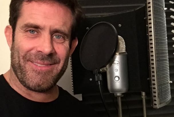 record a 200 word American male voice over narration