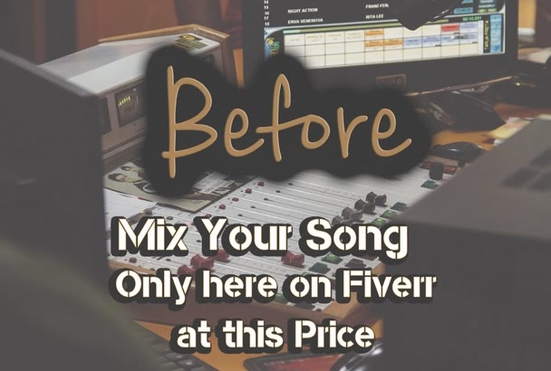 mix your song to your needs