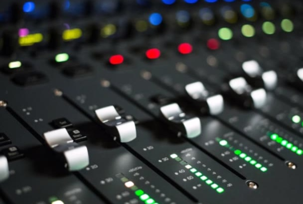 professionally mix and master your track in 24 hours
