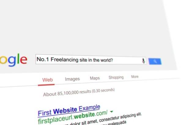create Google Search Style Intro Video