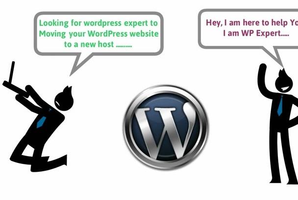 transfer,move, clone, Migrate WordPress site to new host
