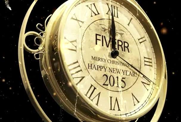 create a BEAUTIFUL New Year countdown 2016