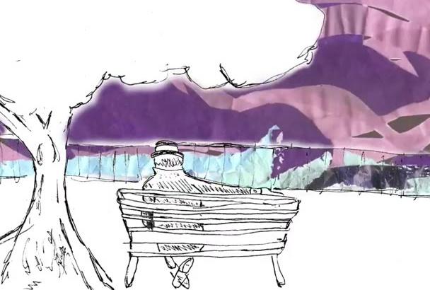 create original and unique hand drawn animations
