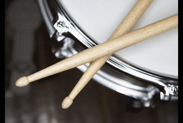 add acoustic drums to your song