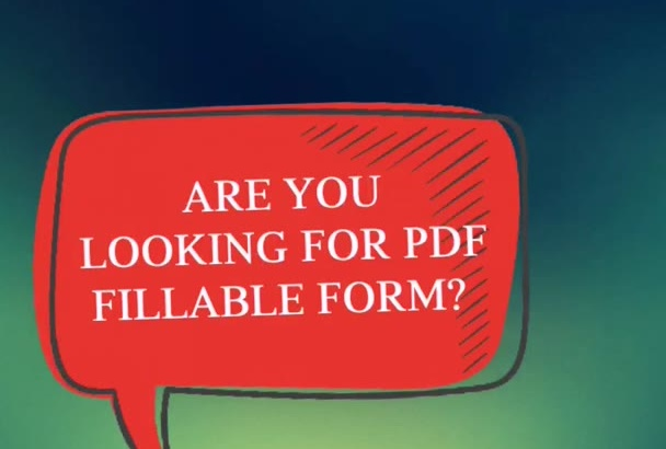 design your PDF form and make it fillable and print ready