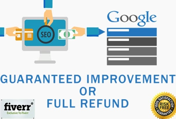 rank you TOP in Google exclusively on fiverr with High Quality Backlinks and Seo