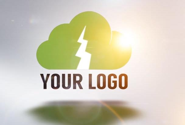 3d Rotating Logo Reveal