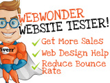 test your website and write an AWESOME report to improve sales and usability