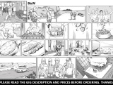 draw storyboards for audiovisual preproduction