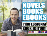 be your book editor AND professional proofreader