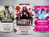 design AMAZING Party,Event flyer, poster, Banner
