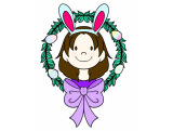 draw your cartoon portrait for Easter