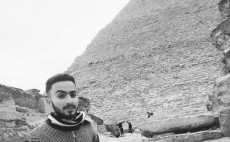 write any name  You need in a paper in pyramids