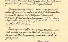 create a handwritten letter from Sherlock Holmes