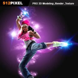 pixel512