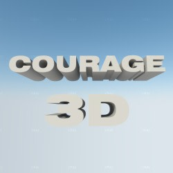 courage3d