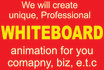 create an eye catching WHITEBOARD animation in 24hrs