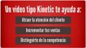hacer vídeo animado tipográfico Kinetic para tu negocio