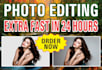 do Photoshop Editing in 24hrs