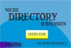 do 25 Instant Approval Niche Directories Submissions manually