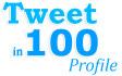 tweet in 100 Profile For 100k Followers