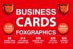 design a business card design