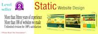 create a static web site