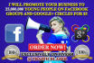 promote Your Business to 25Million Young People on Facebook and Google Groups