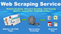 do Web Scraping and Data Extraction job for you