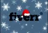 make a christmas edition of your logo