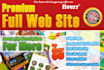 design awesome full premium responsive web site for you