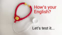 test your English level and give you a diagnostic
