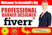 design KILLER Banner for your business