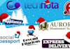 professionally put Santa hat or Christmas symbols to your logo, header, images withing 24hrs