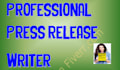 write a 450 word, Professional Press Release