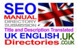 translate and Submit to Uk English directories Manually Title and Description Translated to Uk English Language