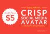 make your CRISP social media avatar