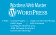 become your Wordpress Web Master