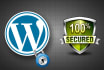 secure and harden your WORDPRESS website