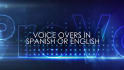 professionally record 150 words in English or Español