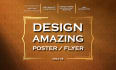 designe an outstanding poster or flyer  for you