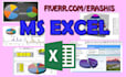 do any MS Excel task