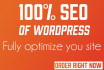 completely SEO your WordPress site