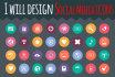 design Social Media Icons