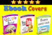 create BEAUTIFUL ebook ecover book cover and kindle