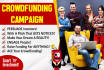 write the best crowdfunding PITCH for your campaign